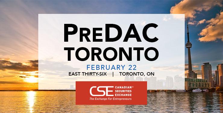 PreDAC Toronto 2018