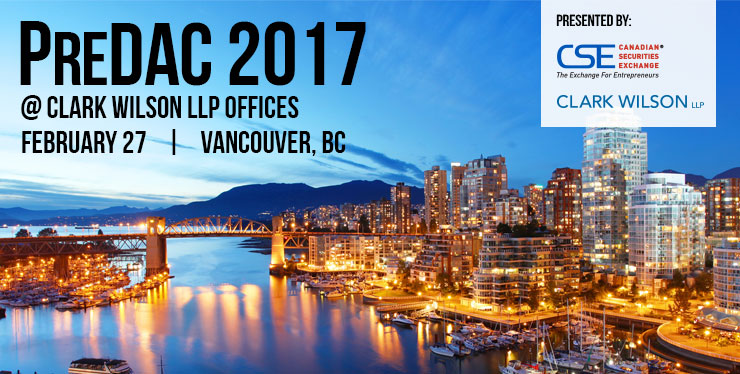 PreDAC 2017 Vancouver