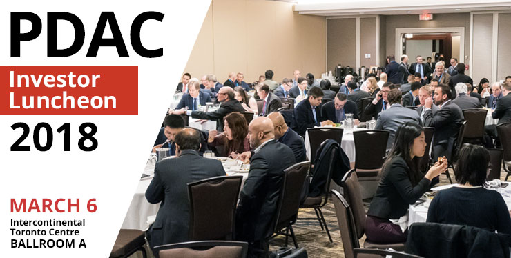 PDAC Investor Luncheon