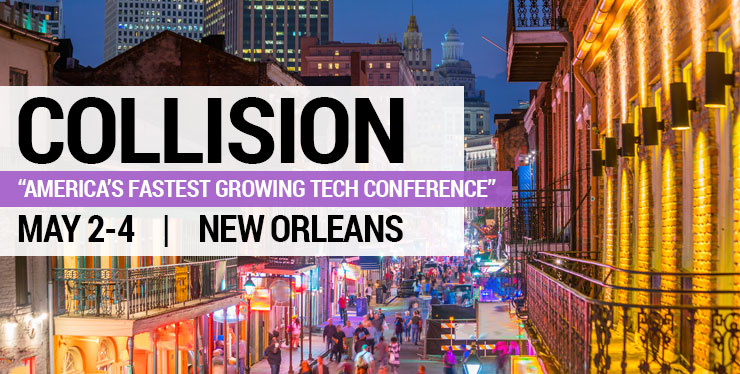 Collision Conference imagery
