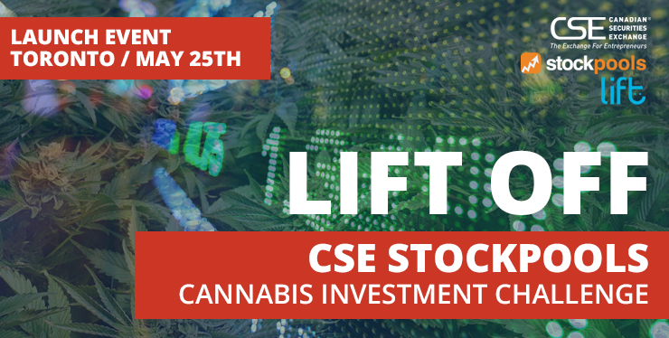 Lift Off - CSE Stockpools Cannabis Investment Challenge Launch Party