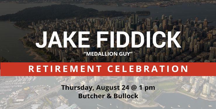 Jake Fiddick Retirement header image