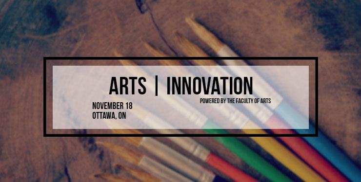 November 18th 2016 Arts Innovation Header