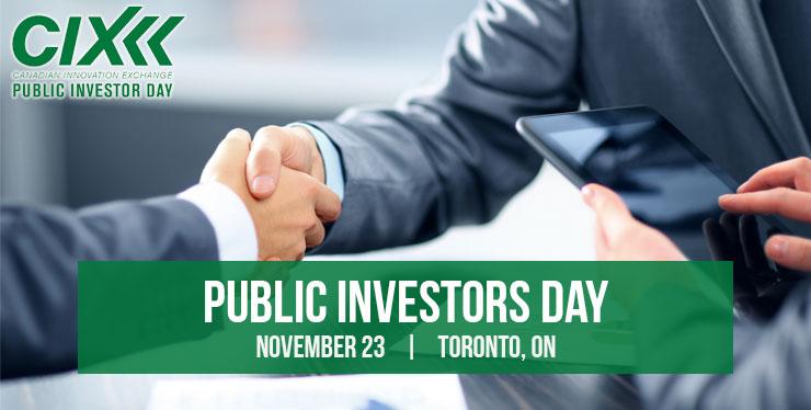 November 23rd 2016 Public Investors Day Header