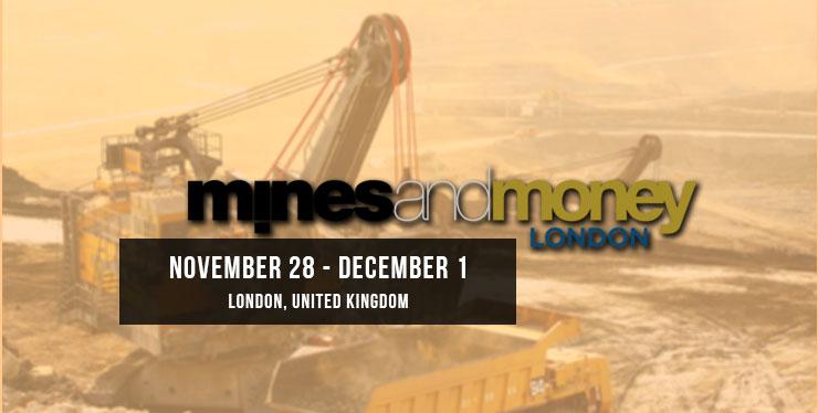 November 28th 201 Mines and Money London Header