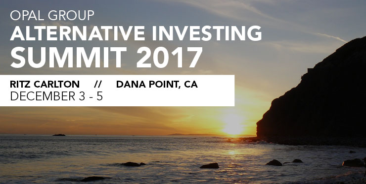 Alternate Investing Summit header