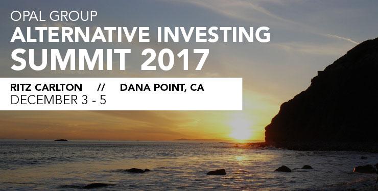 Alternate Investing Summit header