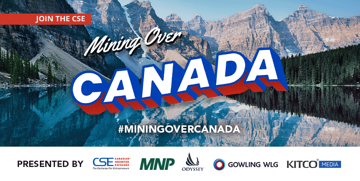 Mining Over Canada Press Release