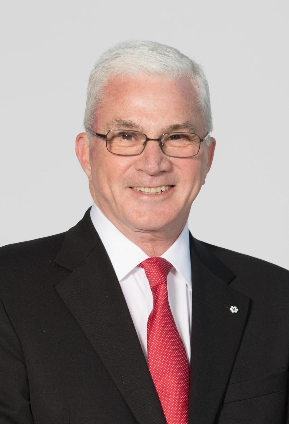 Departing CSE Chairman Thomas S. Caldwell