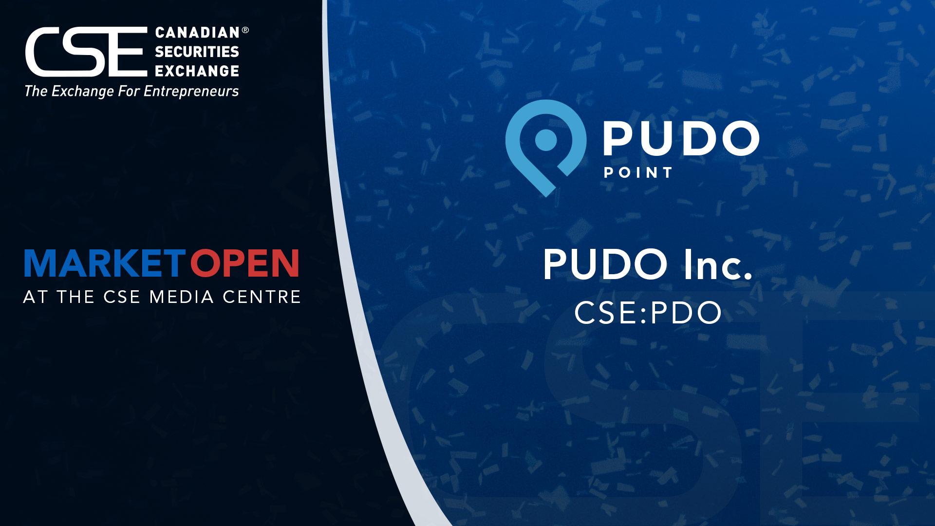CSE_Opening_Bell_Header_PUDO_Inc