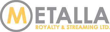 Metalla Royalty logo