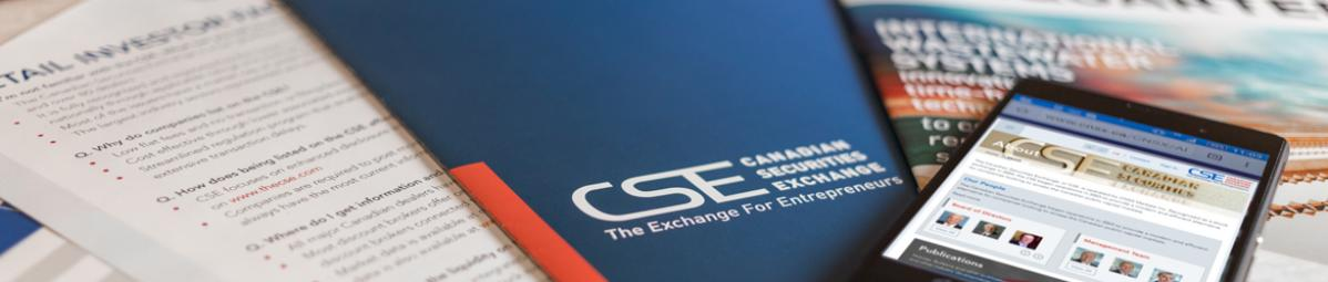 CSE publications stacked on top of each other